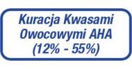 Kuracja Kwasami Owocowymi AHA (12%-55%)